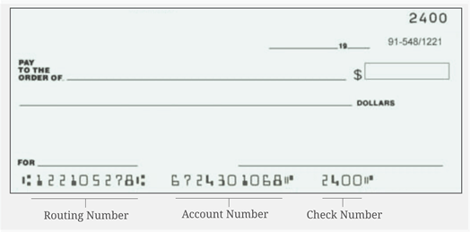 Aba Fake Check Routing Number
