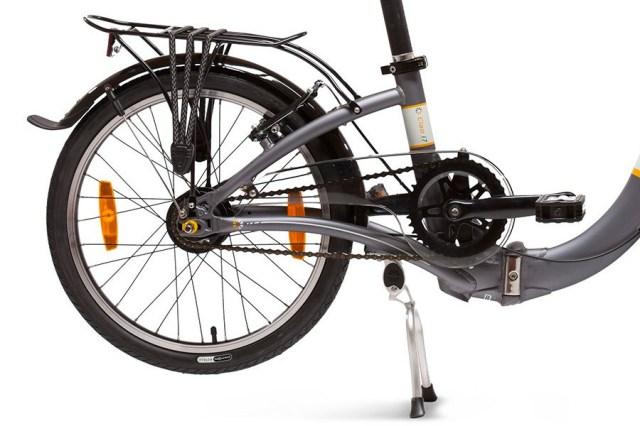 Dahon Ciao I7 Folding Bicycle in Dark Gray 7 Speeds