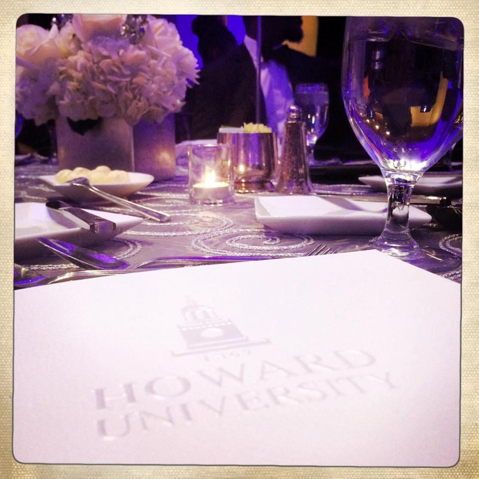 Howard University Charter Day Dinner #HUCharterDay #bison #huaa