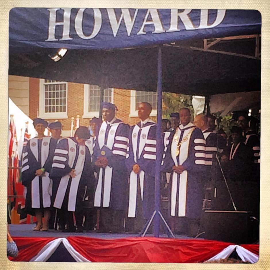 Obama. Jordan. Frederick. Holla. #bison #HU #howarduniversity #howard2016