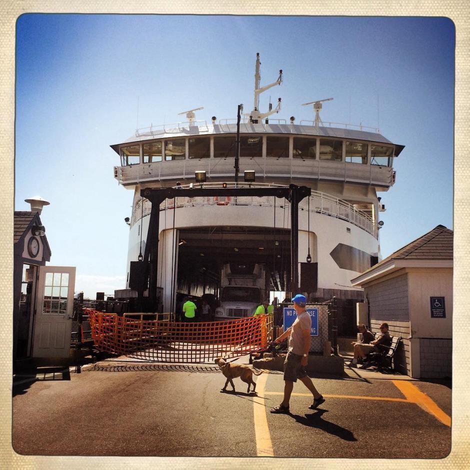 Oak Bluffs bound. #mv
