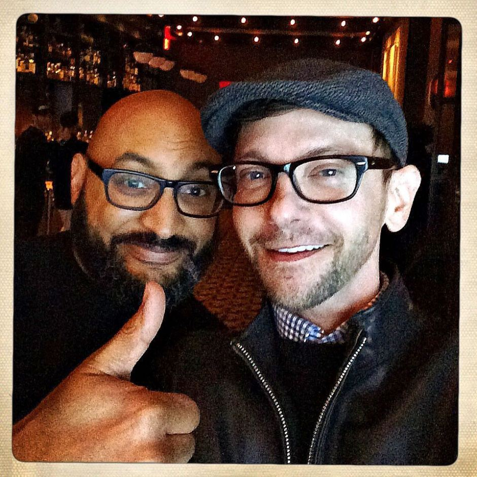 Because I still do 👍🏽 like it's 1983. With DJ Qualls. #latergram #picsfromlastnight #nyc