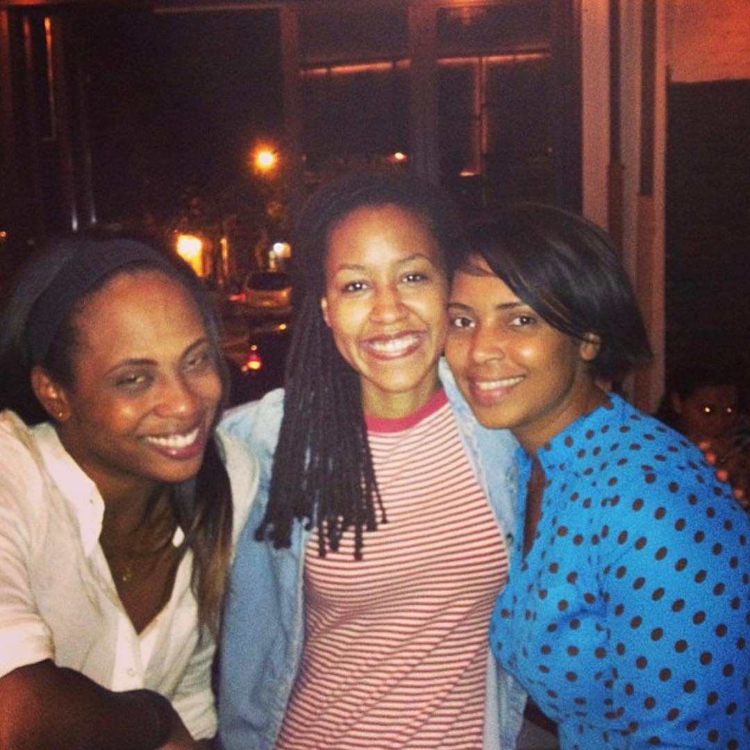 """6 years ago, my friend on the right (Chana) posted this.  I """"liked"""" it, too… 6 years ago. I knew her because of my friend on the left, Kam, though we (the three of us) had gone to school together. I didn't meet the woman in the center for another 8 months; we were introduced by my friend on the right and reconnected several years later by the machinations of the woman on the left.  This is a photo of three of the most incredible and strong women I've ever known.  I'll miss you, Chana. I loved and do love you, not just for bringing me my fiancée (the woman in the center) but for everything you are. For your heart and kindness and fire and sarcasm and gumption and the giving and the passion and compassion that carried you through everything. These words are not enough and they do not do justice to the person you have been both to me and to the other women I love.  This has been a rough week, rougher than expected, a bittersweet week. I'm grateful for the good news we had, of course, and I'm grateful to have known Chana and to know she will feel some measure of peace. Nothing is fair and I guess it's not supposed to be but it sucks that it isn't and the best of us don't get to stay."""