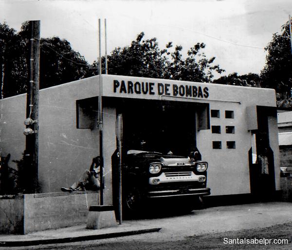 El Cuerpo de bomberos de Santa Isabel (1938)