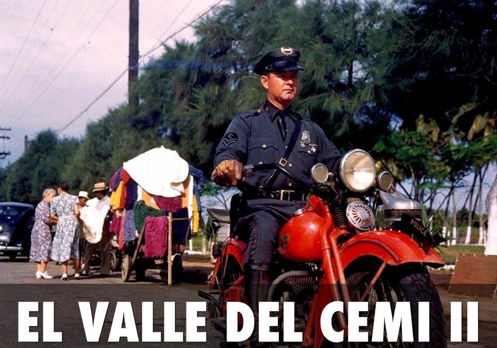 Cuando la policía montaba Harleys