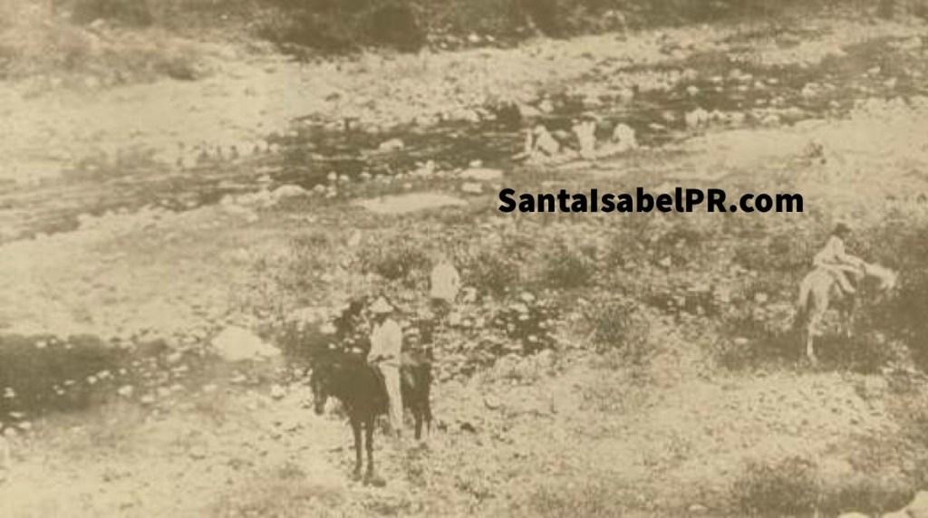 Camino de Santa Isabel a Coamo 1898
