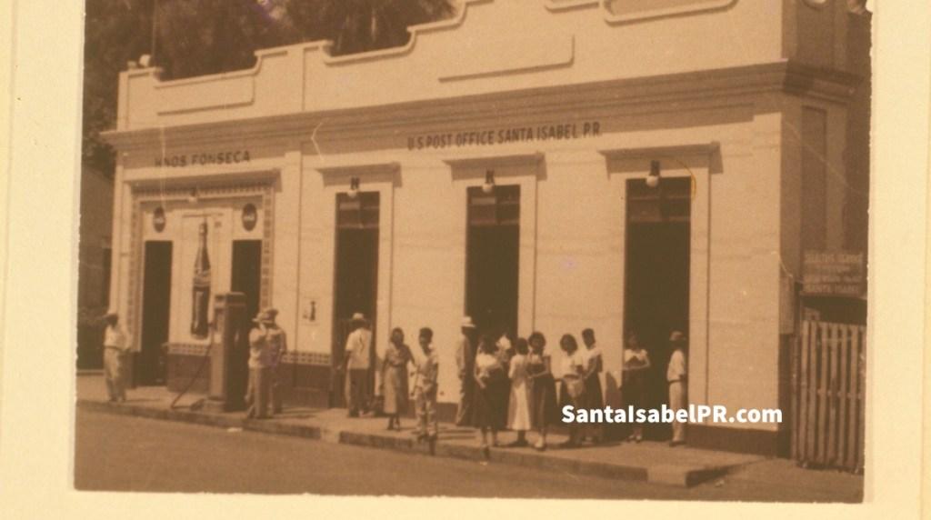 Danubio Azul y correo de Santa Isabel década del '50