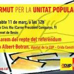 Parlem del repte del referèndum amb el diputat Albert Botran