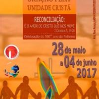 Semana de Oração pela Unidade Cristã 2017
