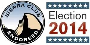Sierra Club endorsed