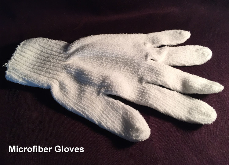 Microfiber Cleaning Gloves