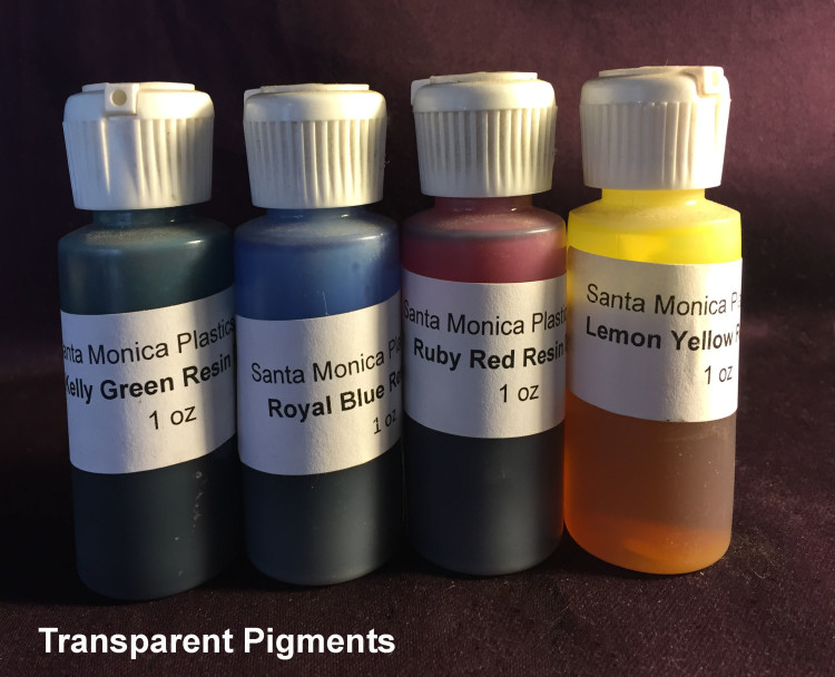 Translucent Pigments For Resins (1oz)