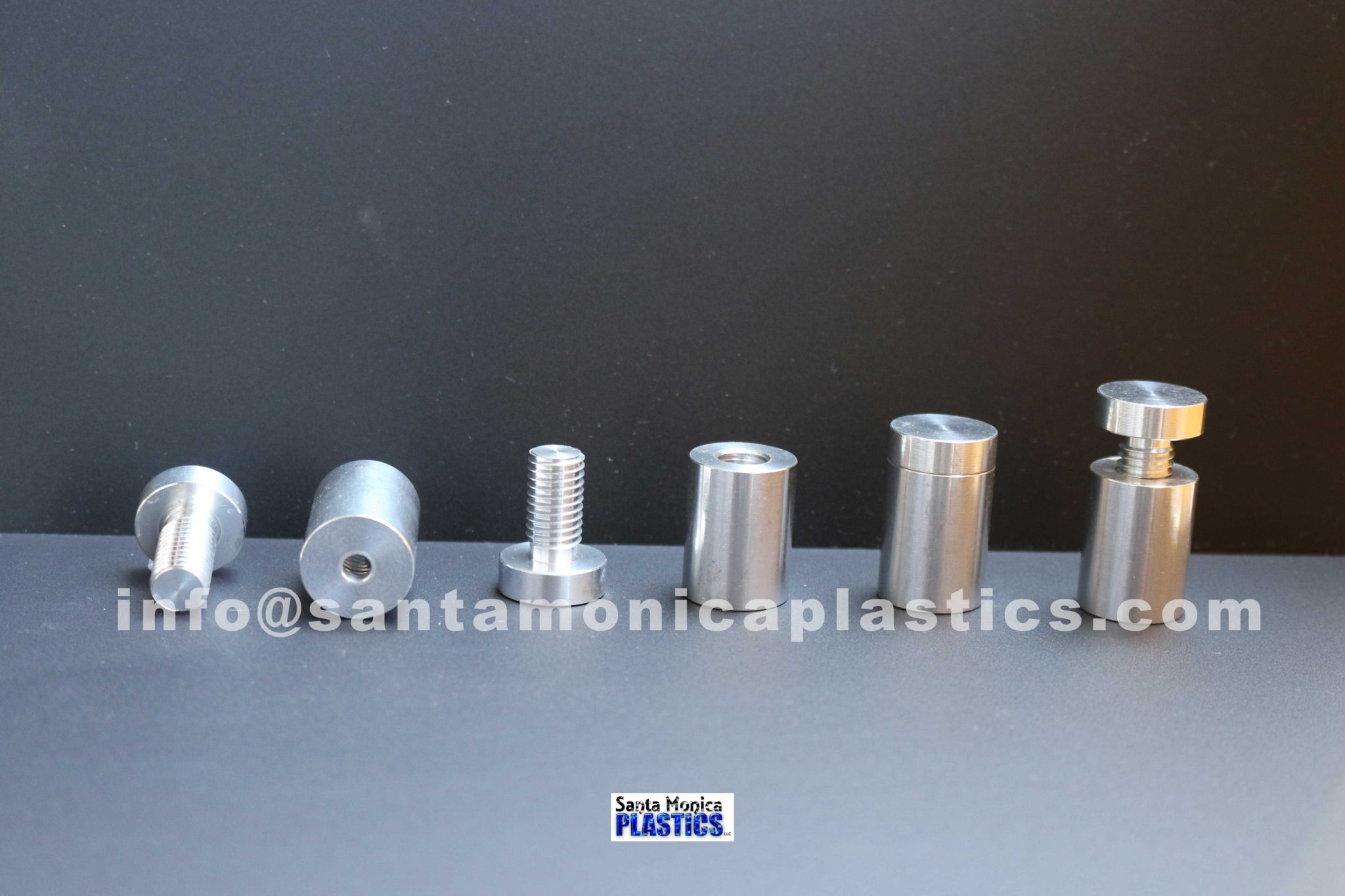 "Aluminum Standoffs #5 Size 0.75"" X 1.25"" (4 Pieces)"