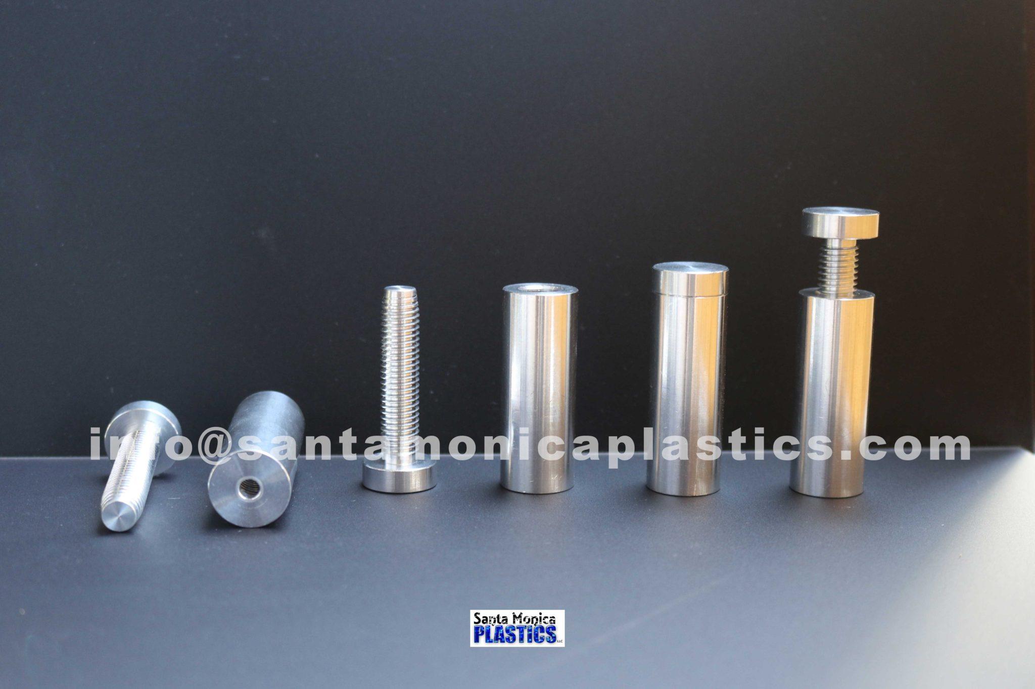 "Aluminum Standoffs #6 Size 0.75"" X 2.25"" (4 Pieces)"