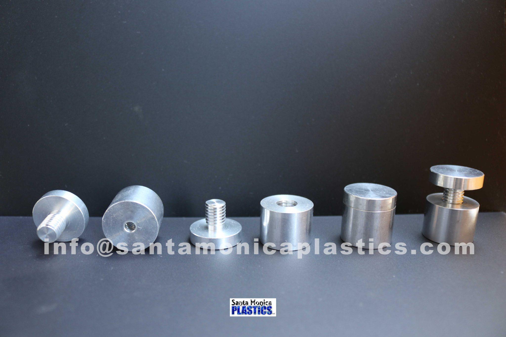 "Aluminum Standoffs #7 Size 1"" X 1"" (4 Pieces)"