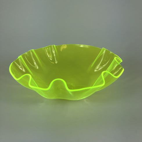 Colored Acrylic Bowls – Green Florescent