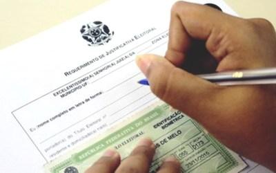 Eleitores poderão ter inscrição cancelada; confira a lista