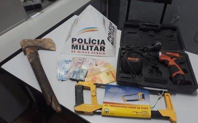 Autor de furto em empresa é detido pela PM