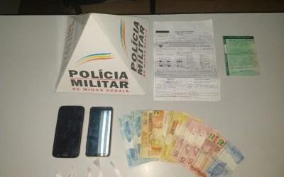 Três são presos por tráfico em Itaúna