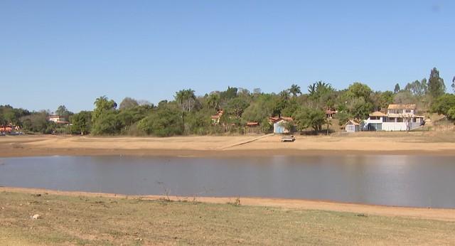 Barragem em Carmo do Cajuru atinge nível mais baixo nos últimos dois anos