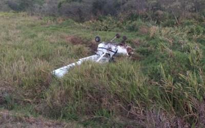 Monomotor faz pouso forçado em Itaguara