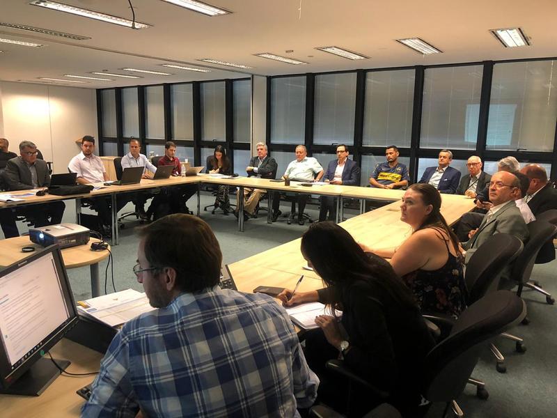 Nova reunião é realizada para avaliar obras da MG-050