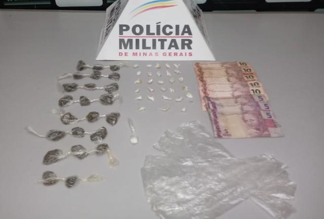 Adolescentes são detidos com drogas