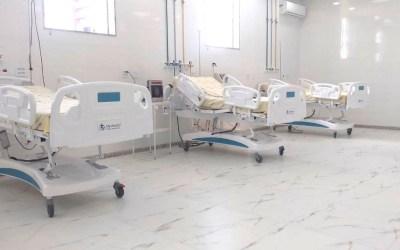 Mais 10 leitos de CTI são inaugurados no hospital de Pará de Minas