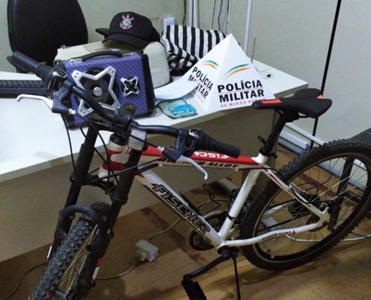 Bicicleta roubada é recuperada pela PM