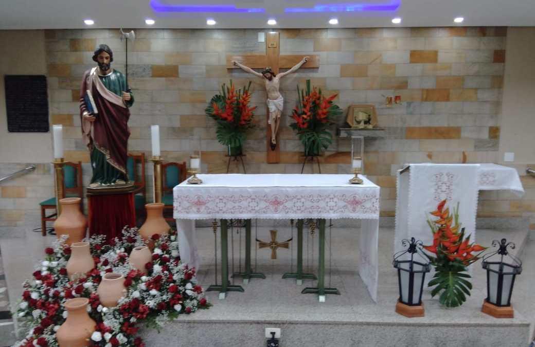 Com Missa, católicos em Itaúna celebram Dia de São Judas Tadeu