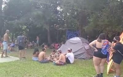 Festa rave com 350 pessoas é encerrada pela PM em Minas