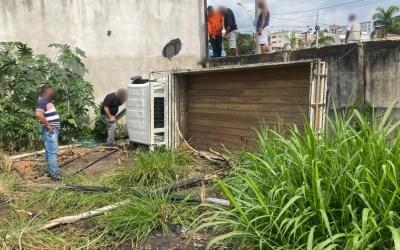 Motorista de caminhão fica desacordado após acidente em Itaúna