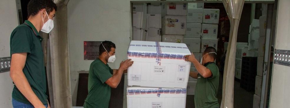 Quase 2.500 doses de vacinas contra a Covid serão enviadas para Itaúna