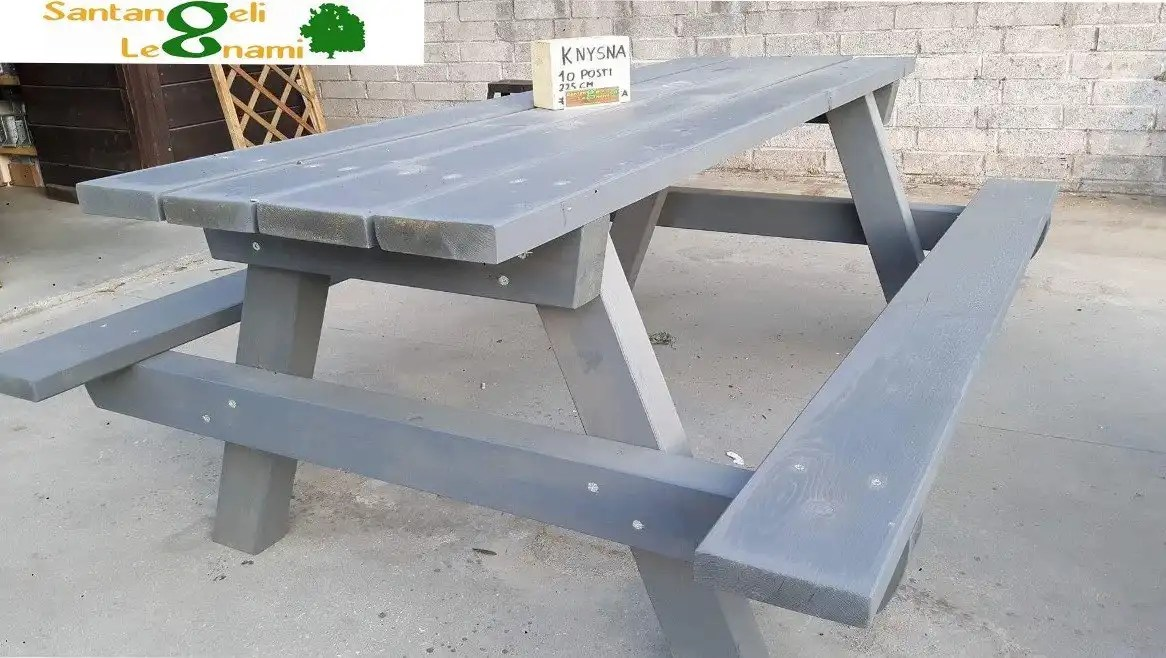 tavoli in legno da esterno - tavolo in legno roma - panca legno pic nic roma - tavoli su misura roma