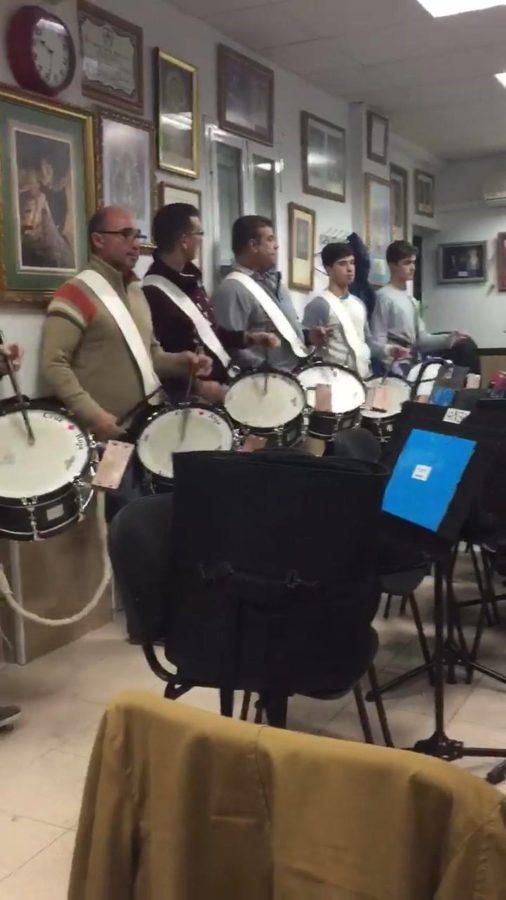 Ensayo banda de música