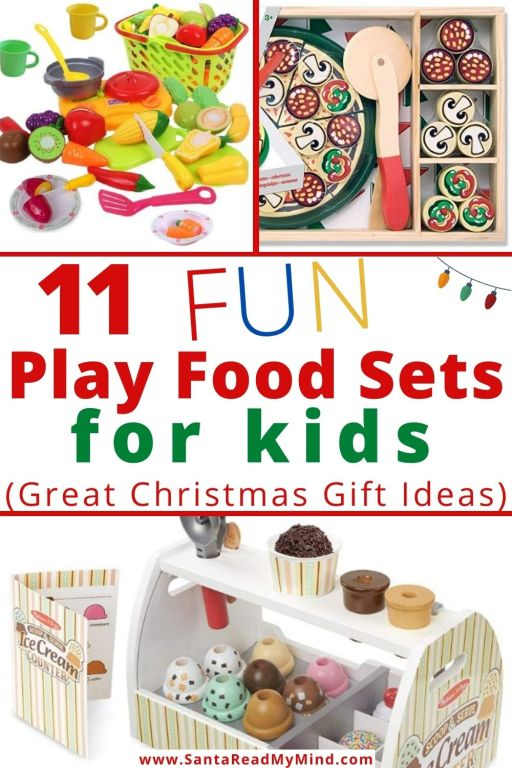 11 Fun Play Food Sets for kids (Christmas gift ideas for kids)