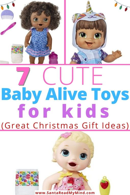 7 Cute Baby Alive Toys for Kids (Great Christmas gift ideas)