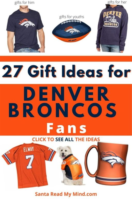 27 Gift Ideas for Denver Broncos Fans - what to get a Broncos fan?