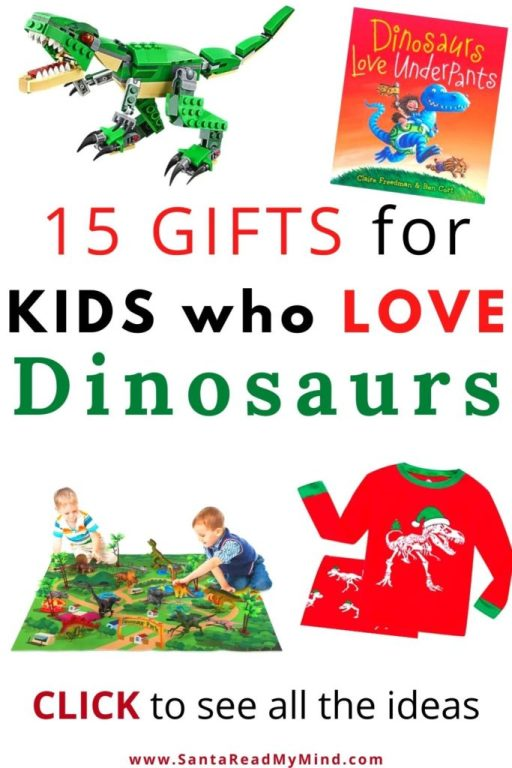 15 Great Gifts for Kids who love Dinosaurs