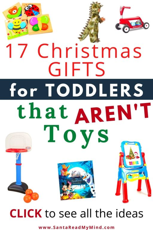 17 Christmas gifts for toddlers that aren't toys