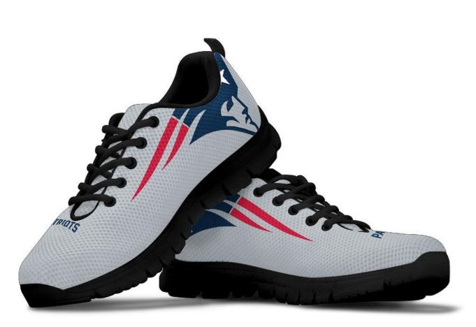 Gifts for Patriots Fans - custom made New England patriots shoes available on Etsy