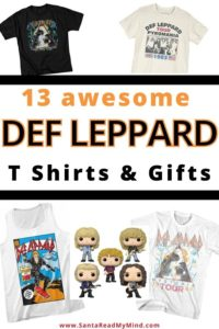 def leppard t shirt and gift ideas