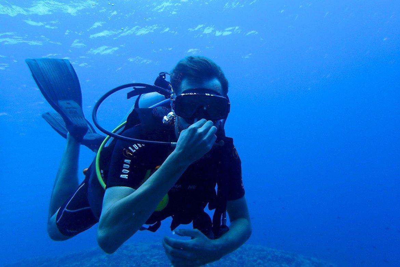 Scuba Diving Santa Rosa Blue Hole
