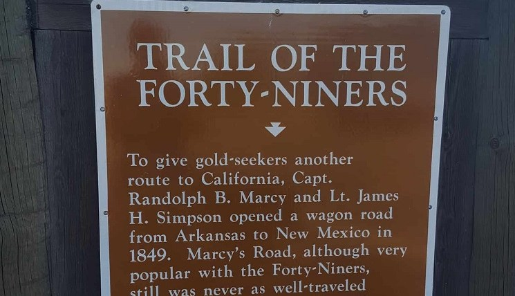 Trail of the Forty Niners