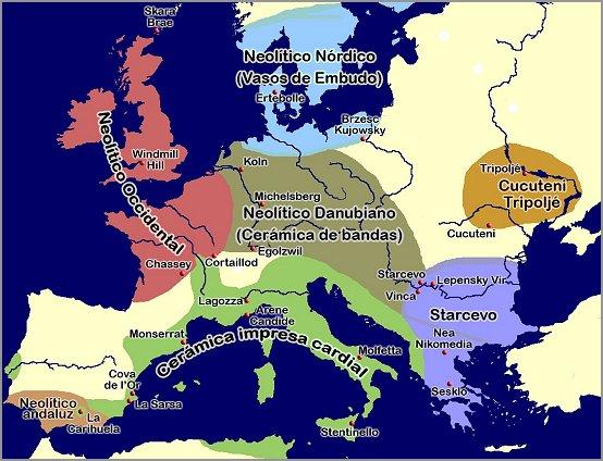 L'Europa Neolitica, prima dell'arrivo degli Indoeuropei