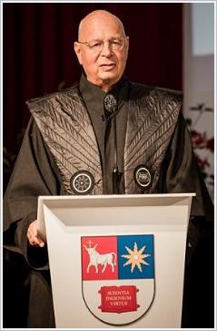 Klaus Schwab, fondatore del World Economic Forum