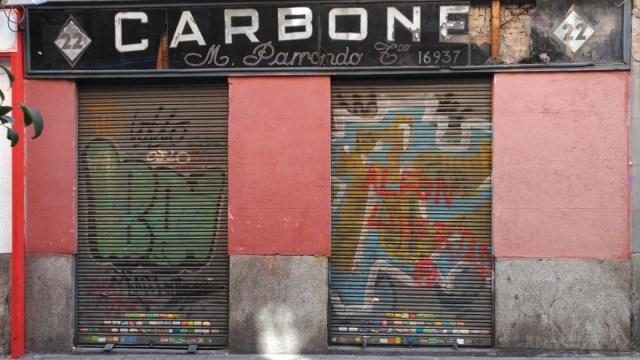 Andando por los rótulos de Madrid (II)
