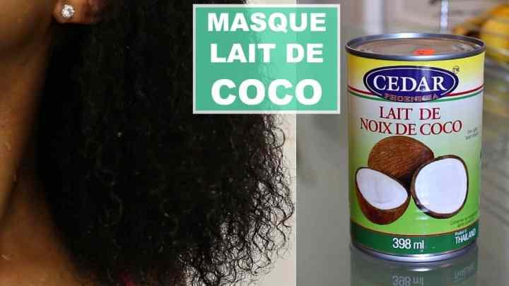Comment utiliser le lait de coco pour mettre fin à la perte de cheveux