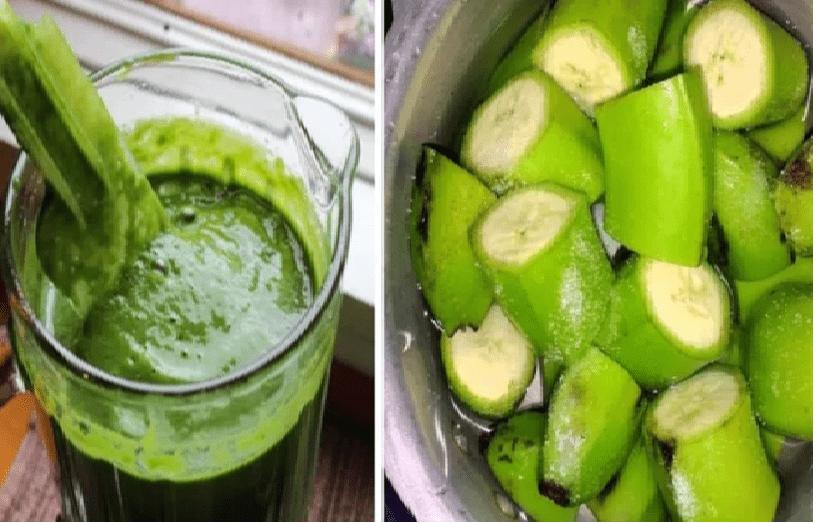 Ce mélange de bananes vertes contrôlera le diabète et réduira votre poids et votre taux de cholestérol
