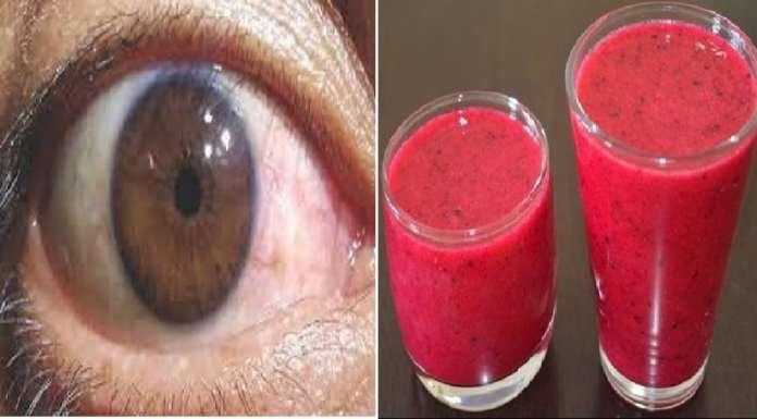 Jus pour améliorer la vue